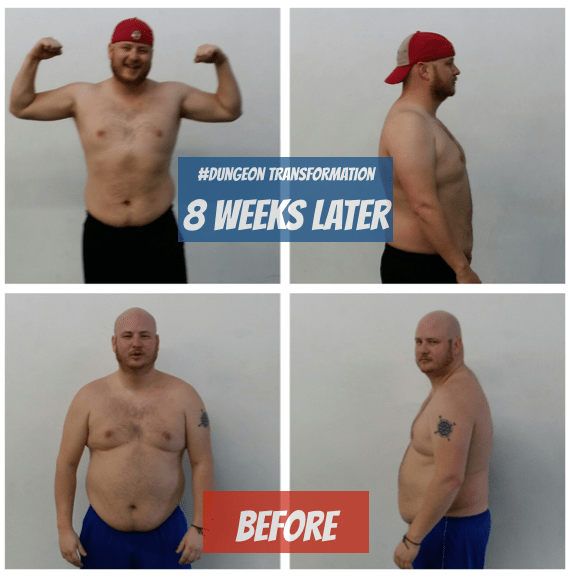 saint paul fat loss for men JDs success story dungeon strength and conditioning