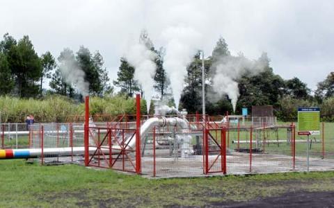 Kapasitas pembangkit Pertamina Geothermal Energy akan mengalahkan Chevron Indonesia pada 2017
