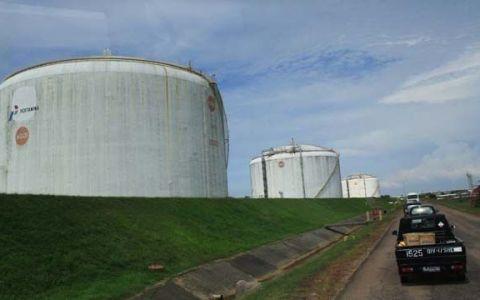 Kilang LNG Arun.