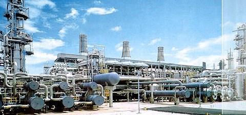 Komplek LNG Arun yang akan disulap Pertamina menjadi fasilitas regasifikasi.