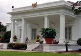 Kantor Presiden di Istana Negara Jakarta.