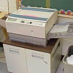 old copier