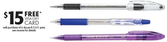 rsvp pens