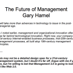 Enterprise 2.0, Management 2.0, HR 2.0 and Culture 2.0 according to Jon Husband