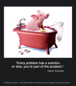 Picture of the week #50 : Every Problem has a solution...