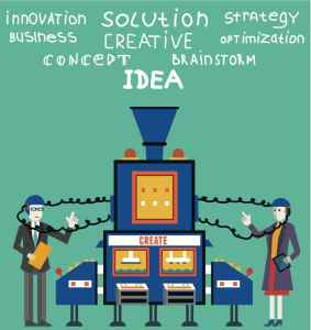 Create ideas and creative solutions