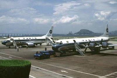 A aposentadoria em 1992, quando o Electra deu lugar ao Boeing 737-300