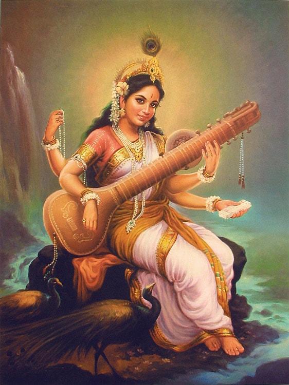 goddess saraswati 2016