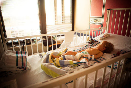 A story of faith for a sick child