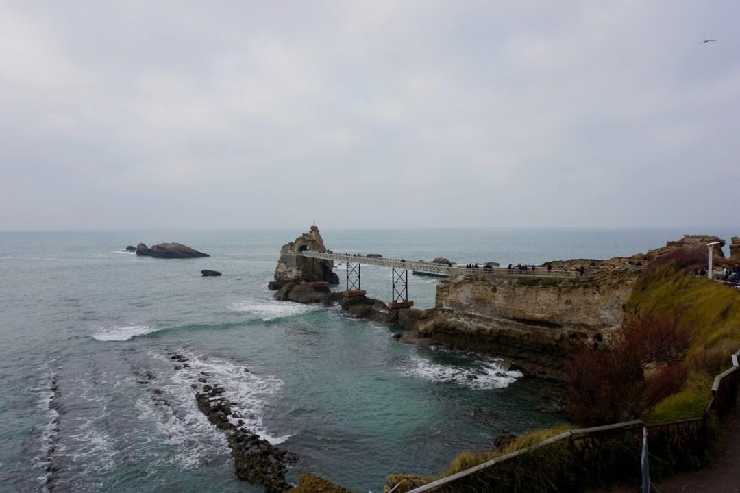 POINTE DE L'ATALAYE & ROCHER DE LA VIERGE BIARRITZ BLOG TOURISME VOYAGE FRANCE COUPLE BORDEAUX 14