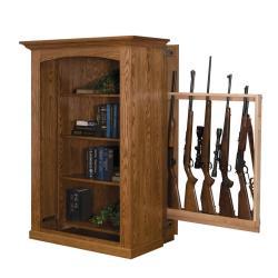 Small Crop Of Hidden Gun Cabinet