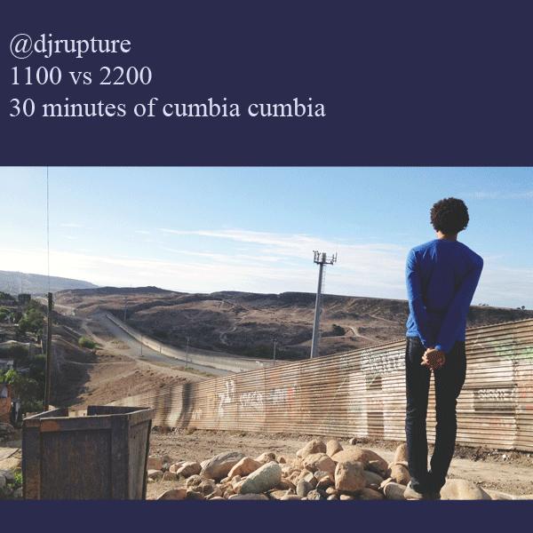 DJ Rupture - Enero 2013 Cumbia Mix