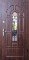 Двери в частный дом со стеклопакетом
