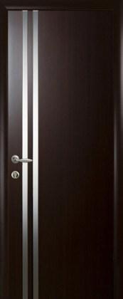 Двери Вита Новый Стиль венге 3D с зеркалом
