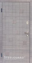Двери Cascade Steelguard серого цвета