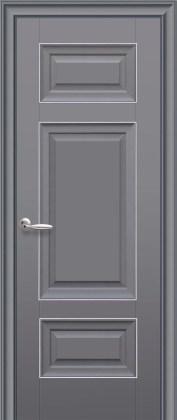Двери Новый Стиль Шарм ПГ антрацит