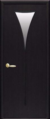 Двери Бора Новый Стиль Венге new со стеклом