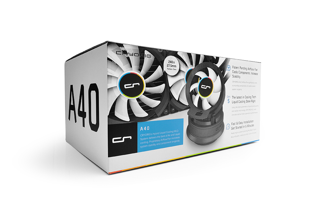 Cryorig A-series Liquid CPU Coolers