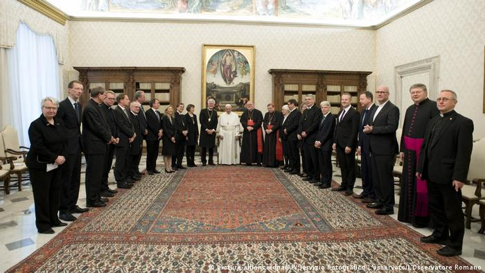 The meeting at the Vatican
