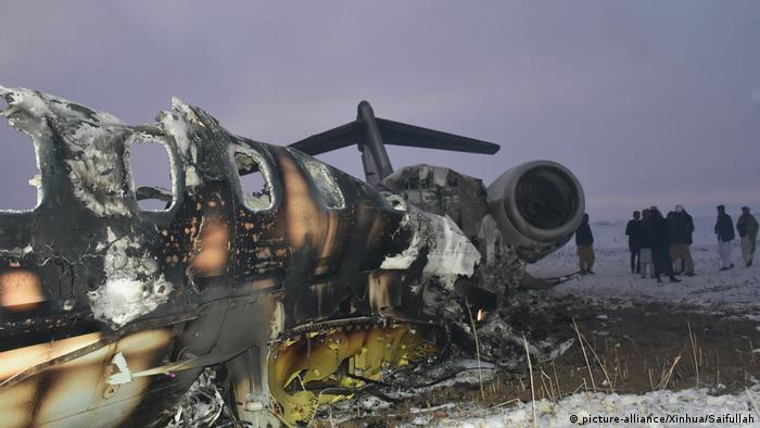 Taliban claimed they shot down a US military plane in Ghazni province