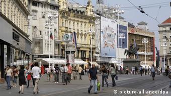 Trg bana Jelačića u Zagrebu