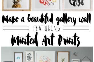 minted art gallery wall