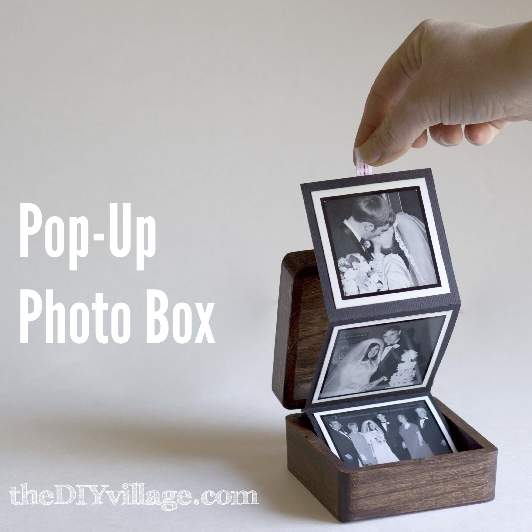 Regaling Boyfriend 2 Years Diy Anniversary Gifts Pop Up Photo Box Gift Idea By Diyvillage Com Diy Anniversary Gifts Him 3 Years gifts Diy Anniversary Gifts For Him