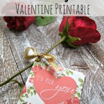 "Last-Minute ""I'd Pick You"" Valentine Printable"