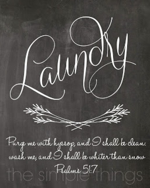 It is a graphic of Selective Free Vintage Laundry Room Printables
