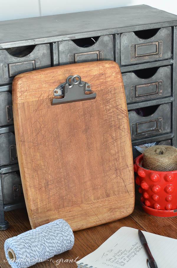 Bread Board Clipboard from anderson + grant