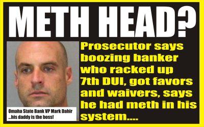 Meth head banker
