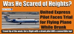Drunk United Express Pilot Trial Coming Soon
