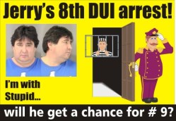 Will he get a chance for number 9 dui
