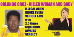 Orlando Cruz illegal alien flouted all all laws