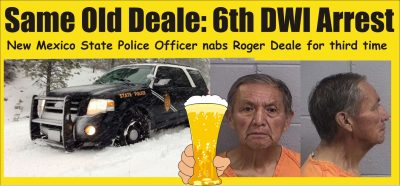 6th DWI for Roger Deale
