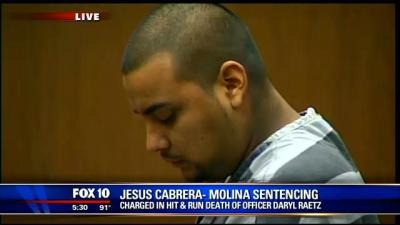 Jesus Cabrera-Molina killed Officer Daryl Raetz while DUI
