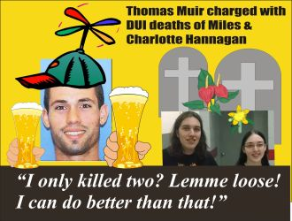 Thomas Muir charged with DUI deaths of Charlotte and Miles Hannagan in PA 021615