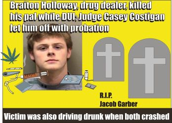 Braiton Holloway sentenced to probation for DUI murder by Judge Casey Costigan