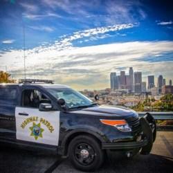 CHP patrol in LA