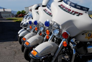 Cache County Sheriff motor units