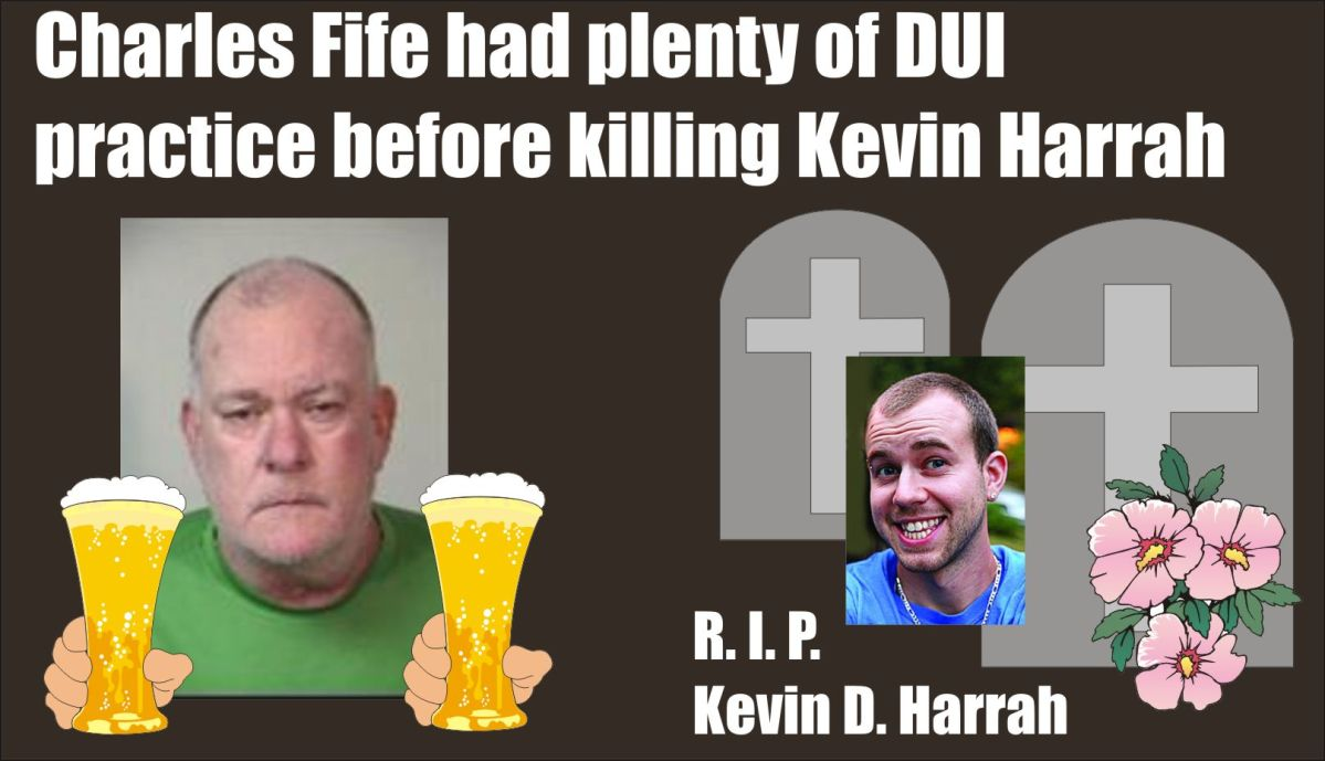 Virginia: Charles Fife held on manslaughter DUI charges after killing Kevin Harrah