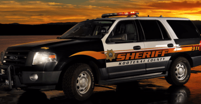 Kootenai County Sheriff's Office patrol unit