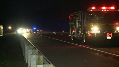 Alex Rodino darted out into path of tractor-trailer on this section of Interstate near Richmond Va. and was killed Photo courtesy of WTVR