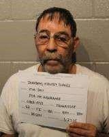 Henry Ames Johnson DUI arrest on 052716 Cleveland County Sheriff OK jail