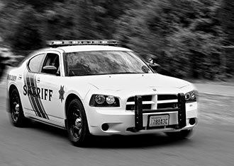 Thurston County Sheriff patrol