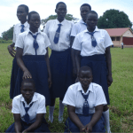 Jalimo Secondary School students