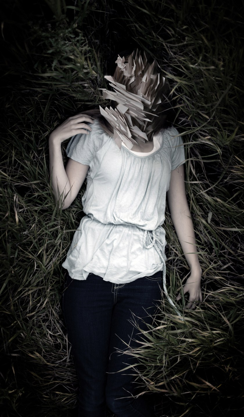 NIGHTMARE #11 Stefano Bonazzi. Digital composition printed on photographic. Fine art paper, framed. Size 70 x 120 cm
