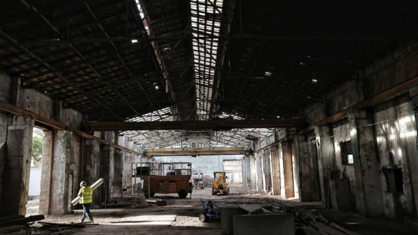 © Bombas Gens Centre D'Art. Antes de la recuperación del edificio.