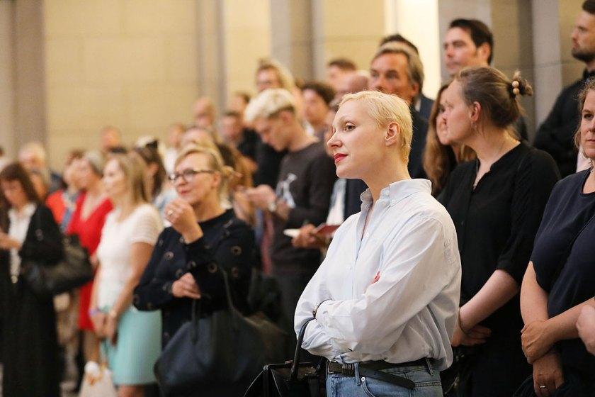 Preisverleihung des European Fashion Award FASH 2017 im Berliner Bode-Museum. Foto: © Bernhard Ludewig / SDBI