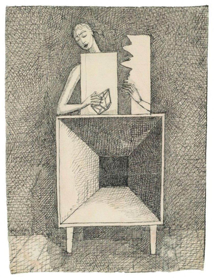 Alberto Giacometti Surrealist Composition c. 1933 © Alberto Giacometti estate / ACS/DACS, 2017